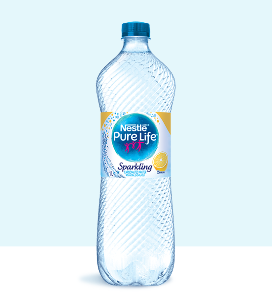 Sparkling 1L Lemon Bottle
