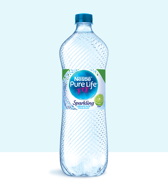 Sparkling 1L Lime Bottle