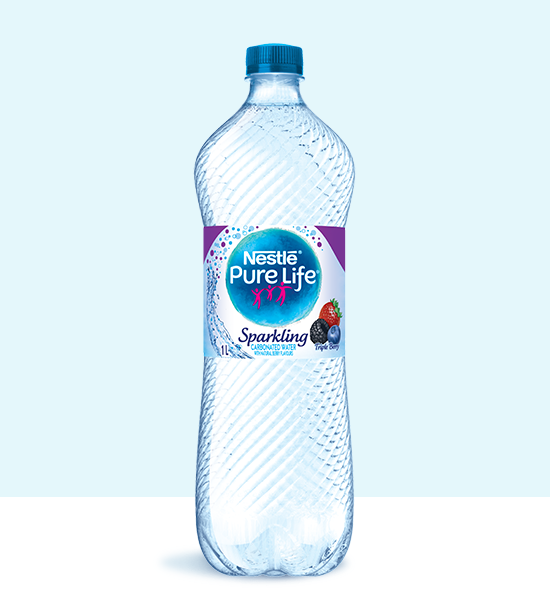 Sparkling 1L Triple Berry Bottle