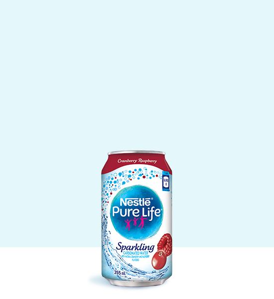 Sparkling 355mL Cranberry Raspberry