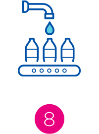 water bottling icon