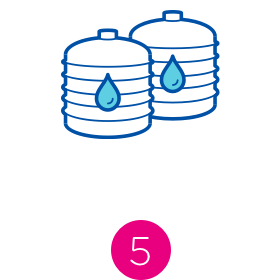 Water quality process icon