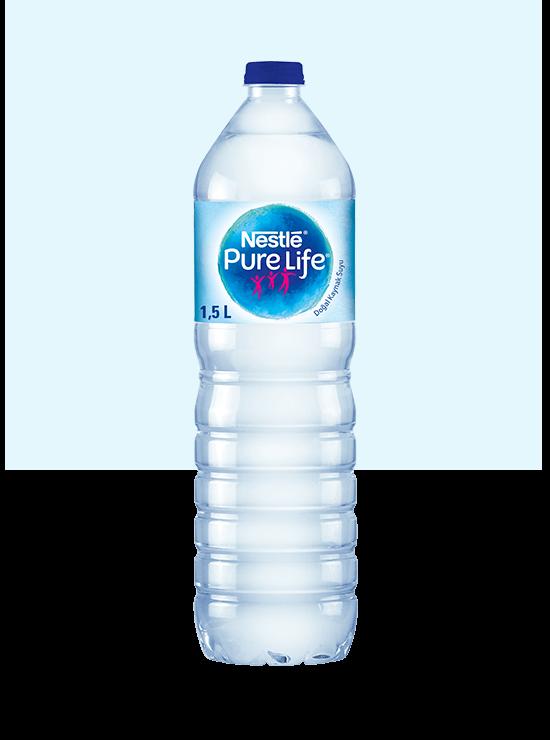 1,5litre şişe su