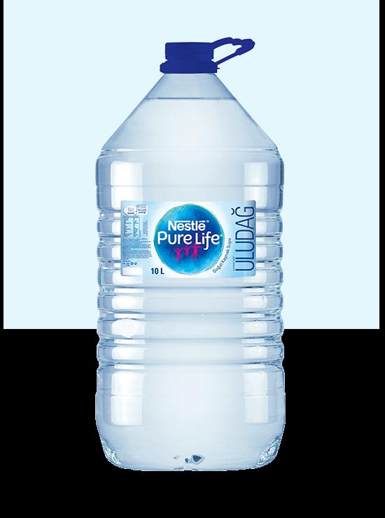 10litre şişe su