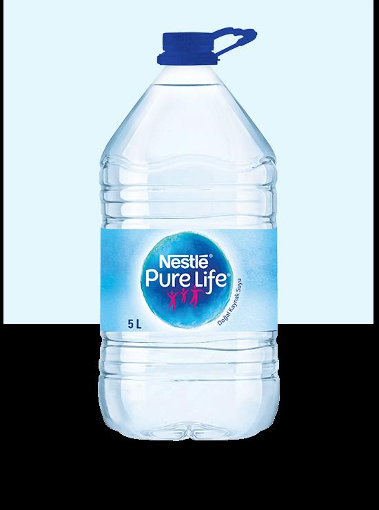 5litre şişe su