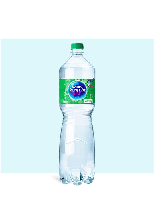 Nestlé Pure Life Sparkling 1.5l water bottle