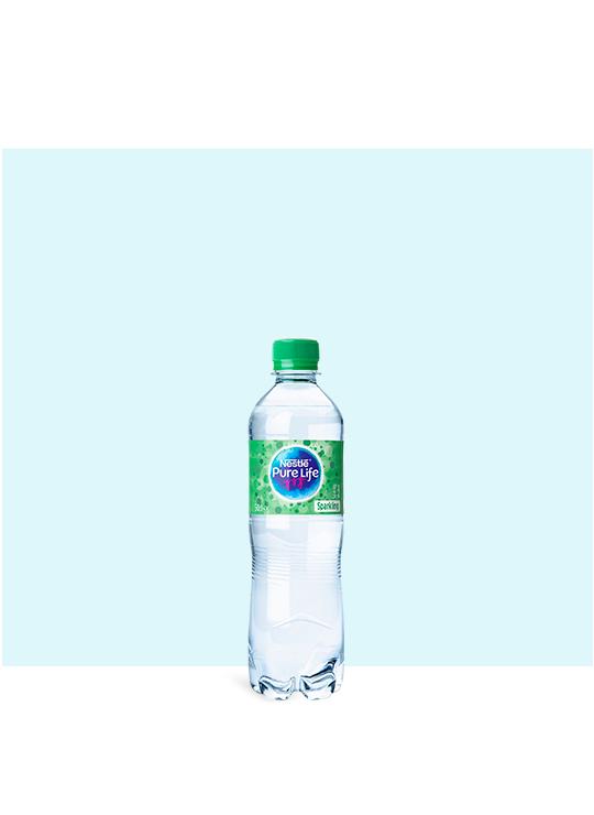 Nestlé Pure Life Sparkling 500ml water bottle