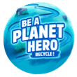 nestle pure life be a planet hero logo